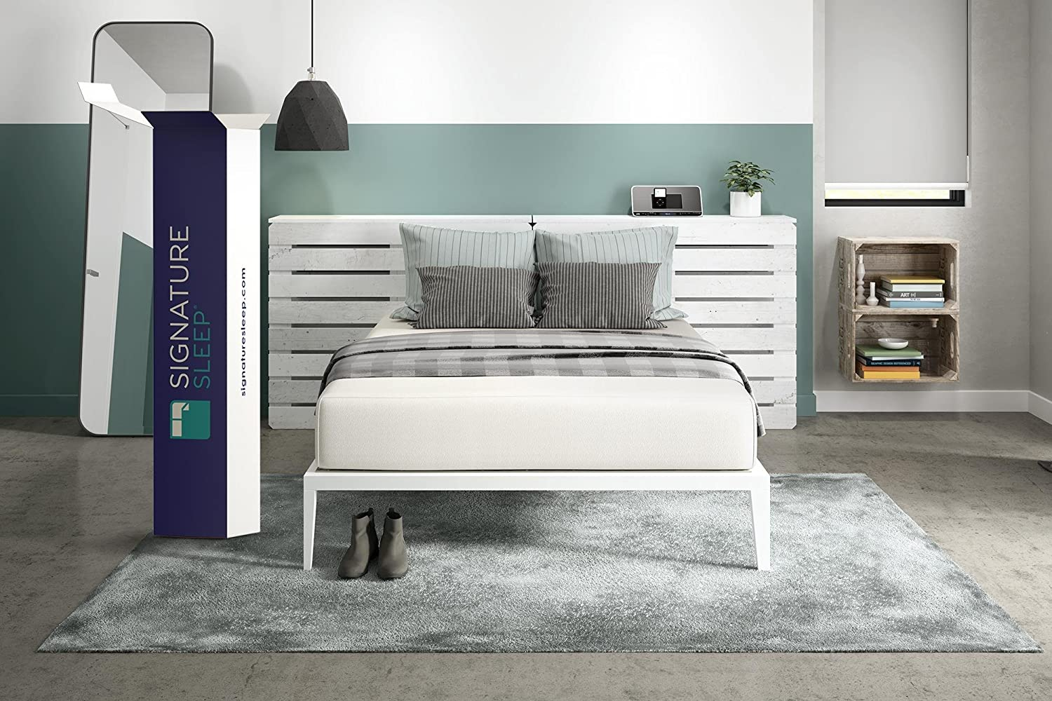 Signature Sleep Memoir Memory Foam Mattress (The Widest Range of Thicknesses)