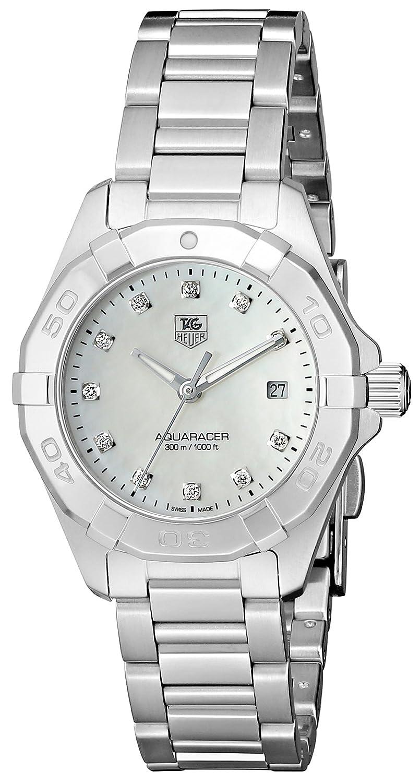 TAG Heuer Women s WAY1413.BA0920 300 Aquaracer Silver-Tone Stainless Steel Watch