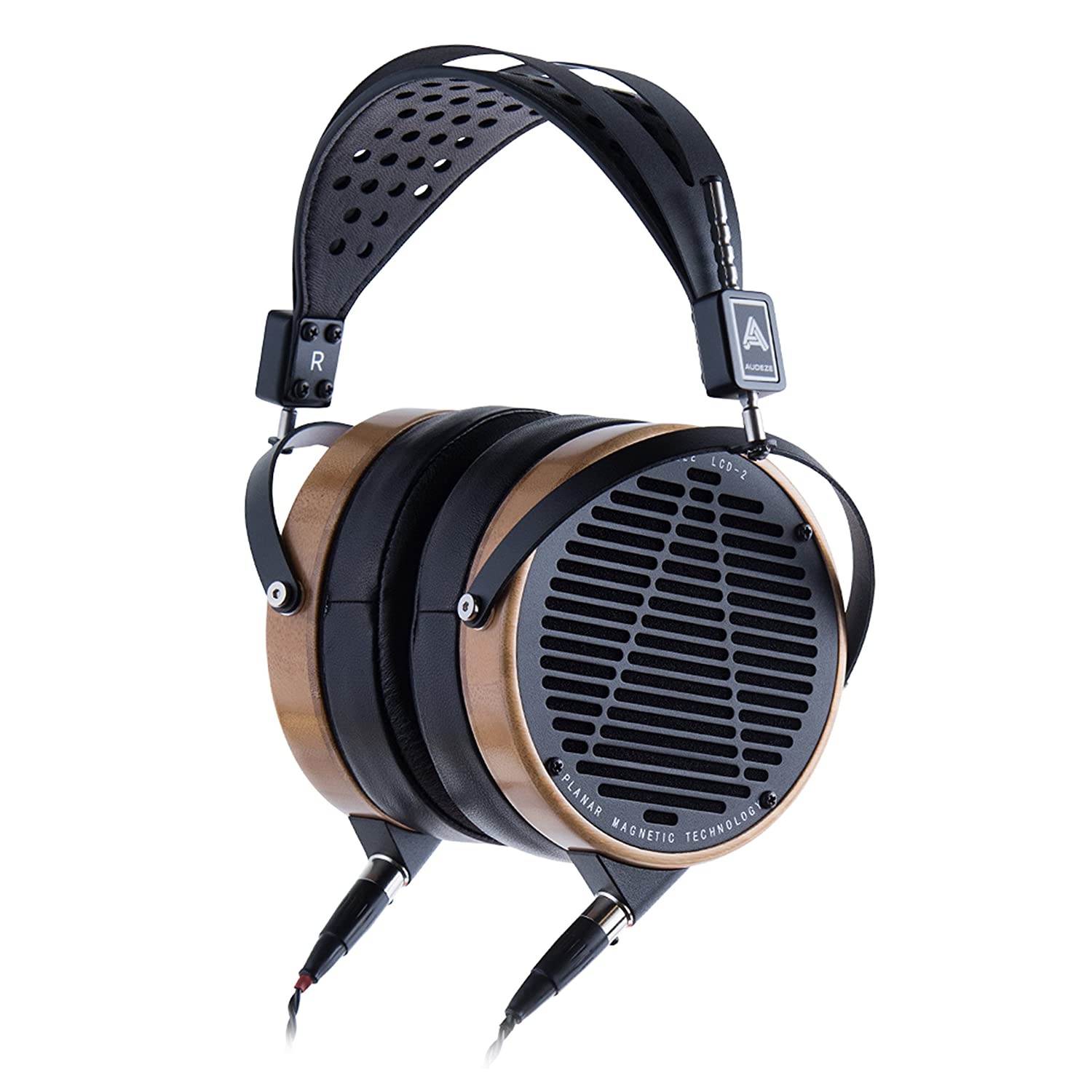 Audeze Lcd 2 Over Ear Open Back Headphone Bamboo Mobius Wiring Diagram Wood Rings Leather Electronics