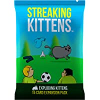 Exploding Kittens Streaking Kittens: Second Expansion of Exploding Kittens Card Game