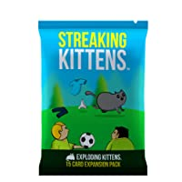 Exploding Kittens Streaking: This is The Second Expansion of Exploding Kittens
