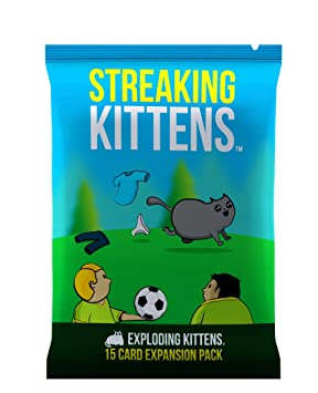 8fb4a8297 Streaking Kittens: This is The Second Expansion of Exploding Kittens, Card  Games - Amazon Canada