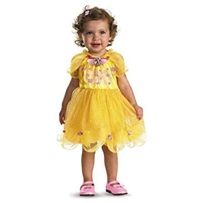 Disguise Baby Girl's Disney Beauty and The Beast Belle Costume, Yellow, 12-18 Months: Clothing