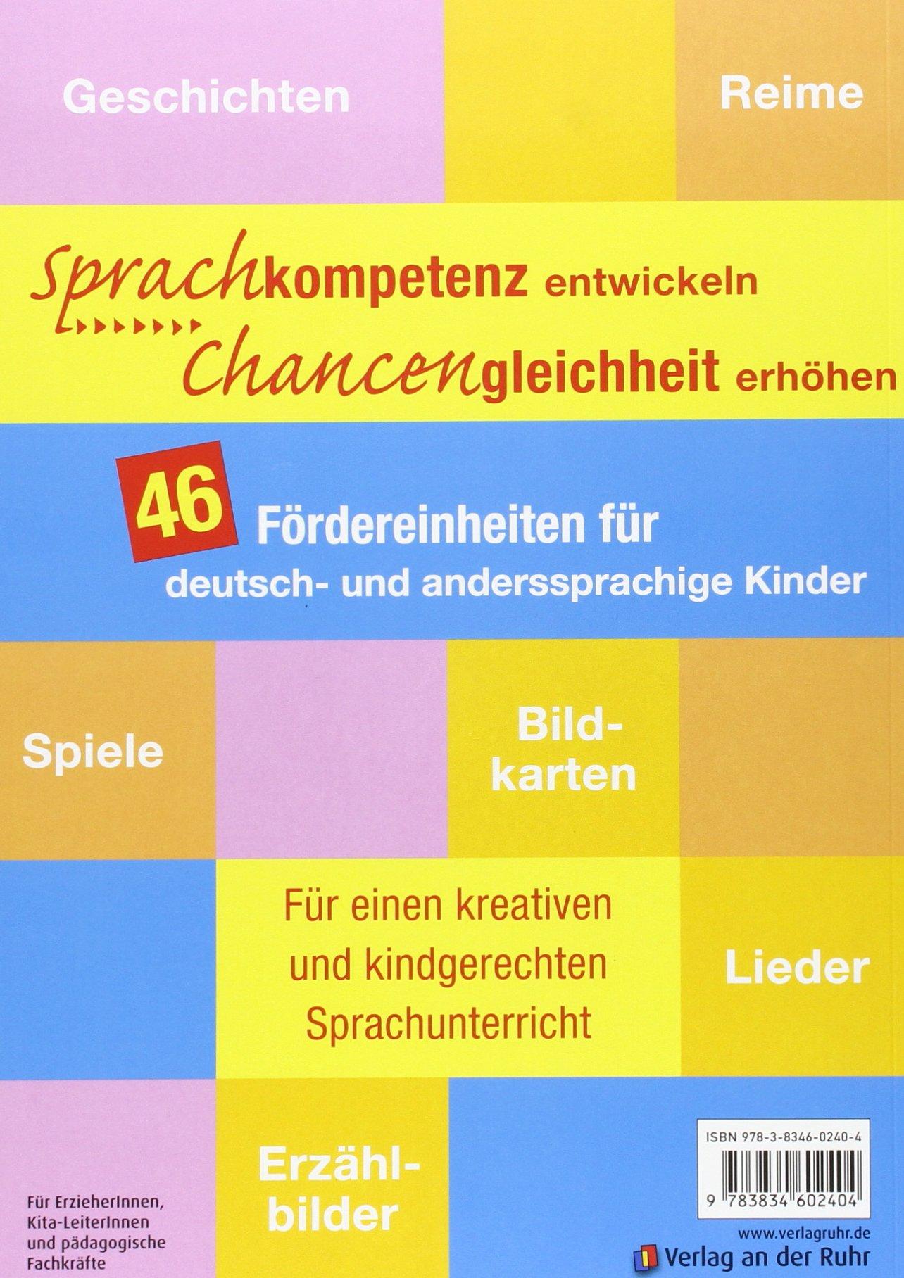 Sprachförderung für 3- bis 7-Jährige: Ausgearbeitete Stunden und ...