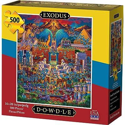 Dowdle Jigsaw Puzzle - Exodus - 500 Piece: Toys & Games