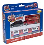 Richmond Toys Motormax Best of British Street Scenes London Trio Die-Cast Gift Set