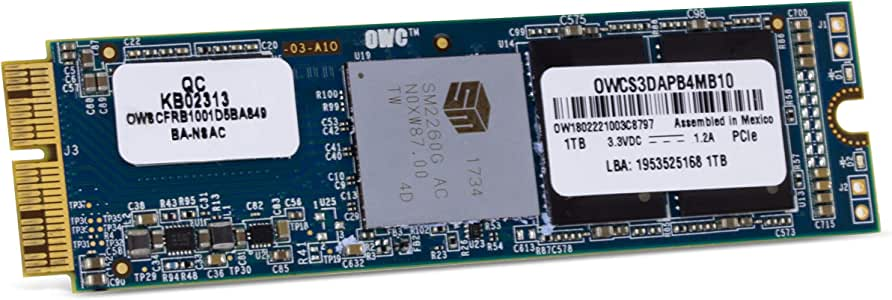 OWC Aura Pro X 480 GB PCI Express - Disco Duro sólido (480 GB ...