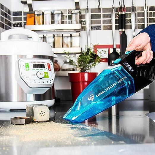 Cecotec Conga ErgoExtreme 3 en1 - Aspirador sin cable y sin bolsa, ciclónico, batería de Ion-Litio, 29,6 V