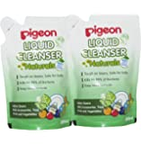 Pigeon Naturals Liquid Cleanser Refill Combo, 200ml (Pack of 2)