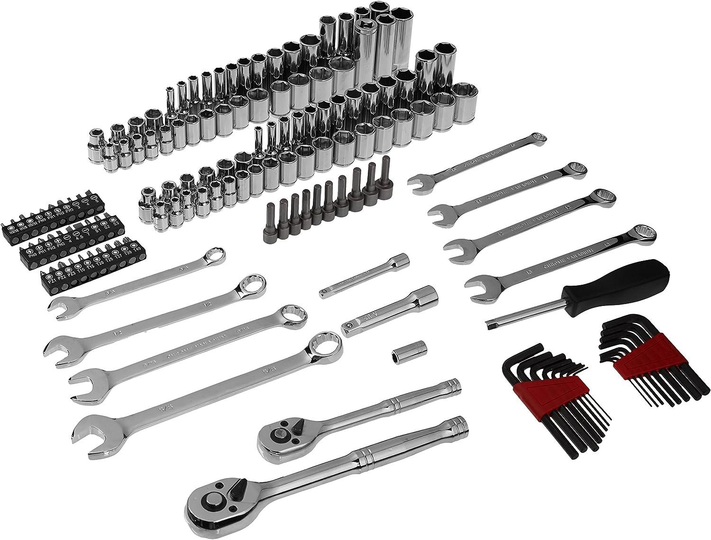 Basics Mechanics Socket Set 201-Piece AMZ1702