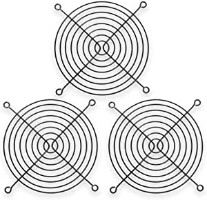 Hydra 80mm Wire Fan Grill Black 3 Pack