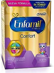 Fórmula Láctea Infantil con Proteína Parcialmente Hidrolizada, Enfamil Confort Premium para Lactantes de 0 a 12 meses, Caja