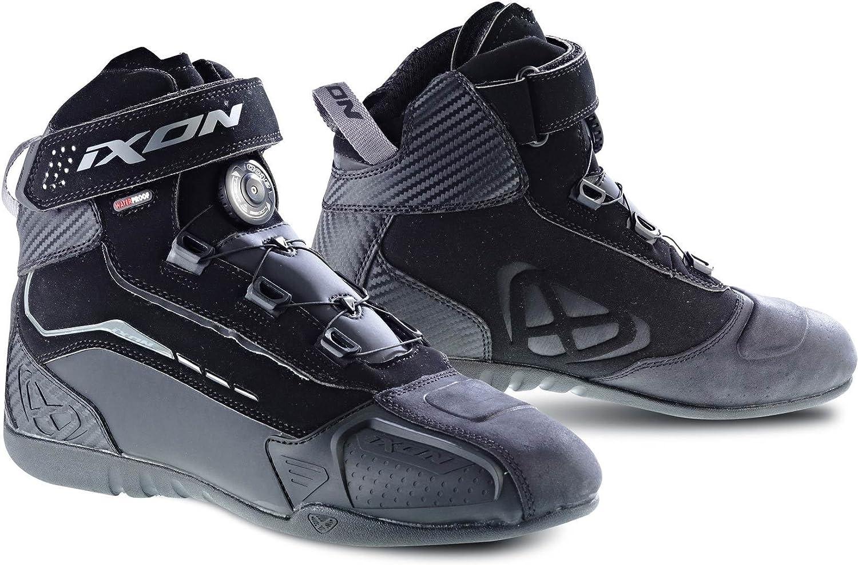 44 Noir Bottes Moto IXON Soldier Evo Noir