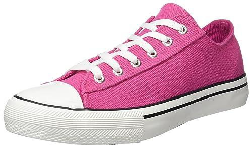 Springfield 9889280, Zapatillas Mujer, Rosa, 38 EU: Amazon.es: Zapatos y complementos