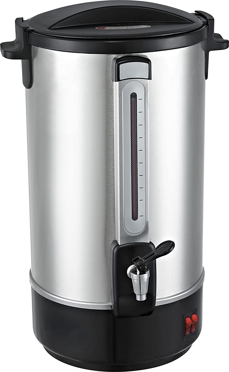 Classic Kitchen 28 Cup Stainless Steel Insulated Hot Water Urn - Water Boiler for Instant Hot Water with metal spout