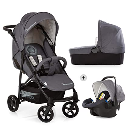 Hauck Rapid 4X Plus Trio Set - 3en1 carrito de bebe, Grupo 0+ adaptable