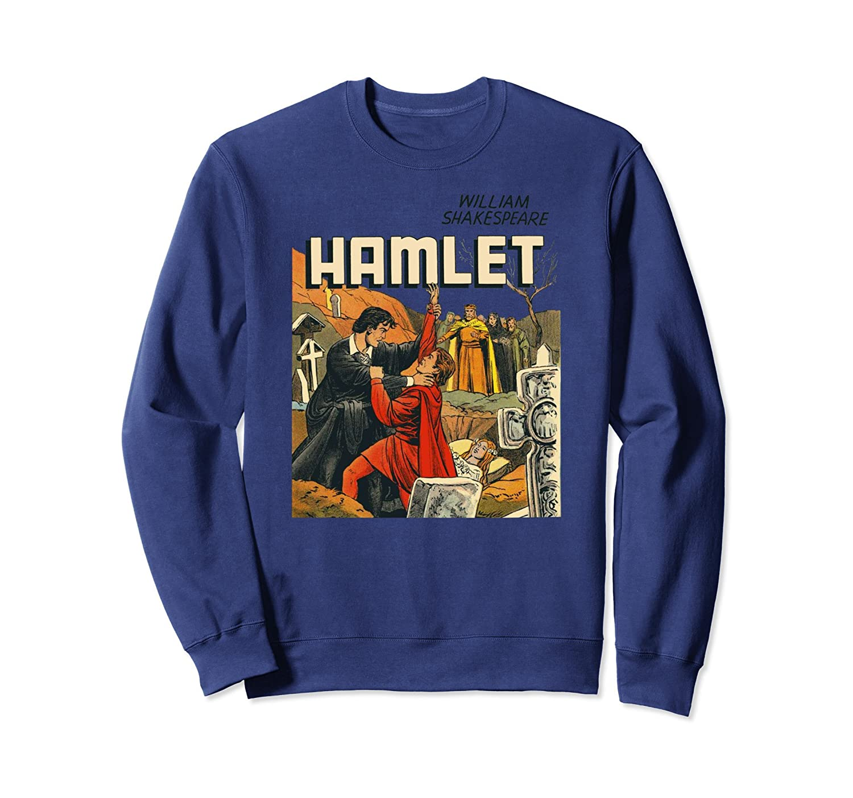 Vintage Hamlet TShirt Classic Shakespeare Sweatshirt