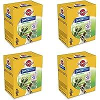 PEDIGREE Pack de 28 Dentastix Fresh Usage Quotidien pour Le Nettoyage Dentaire des Chiens et Contre Les Mauvaises odeurs pour Petits Chiens 500 g - Pack de 4