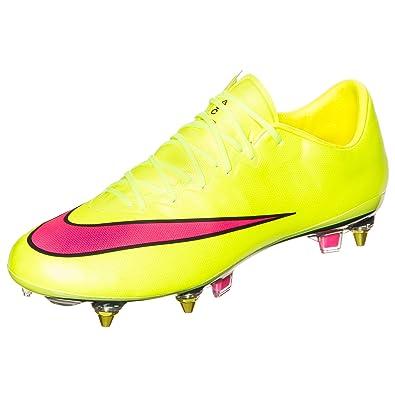 newest 53d1d dd638 Nike Mercurial Vapor X SG Pro Mens Football Boots, Yellow ...