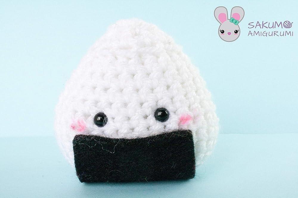 Onigiri Bear Crochet Free Pattern | 667x1000