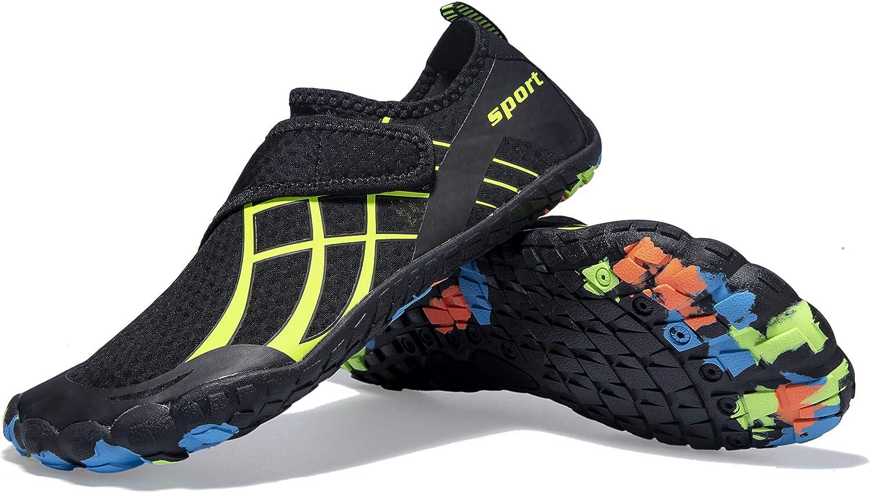 Mens Womens Water Sport Shoes Barefoot Quick-Dry Aqua Socks for Beach Swim Surf Yoga Exercise