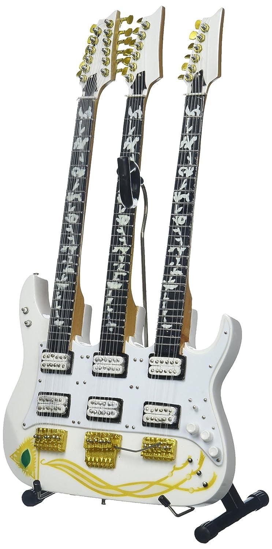 新しいエルメス AXE HEAVEN アックスへブン JEM スティーブヴァイ B01AW9SW9Y シグネイチャー ホワイトJEM トリプルネック ホワイトJEM ミニチュア ギター Steve Vai Signature JEM Triple-Neck Mini Guitar B01AW9SW9Y, Life and Peak:6657d51e --- efichas.com.br