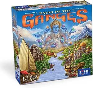 Rajas of The Ganges Tabletop Game