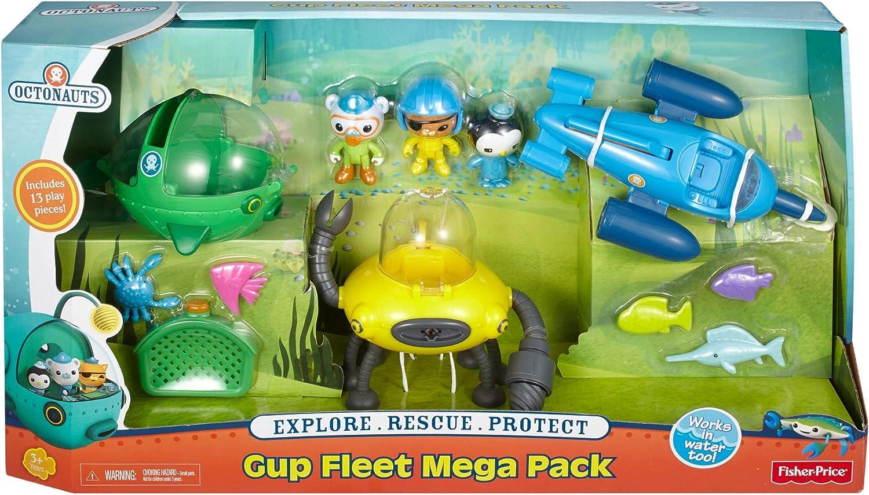 Fisher-Price Octonauts Gup Fleet Mega Pack