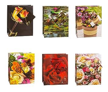 TSI 84025 - Bolsas de regalo pequeñas decoradas con diseño ...