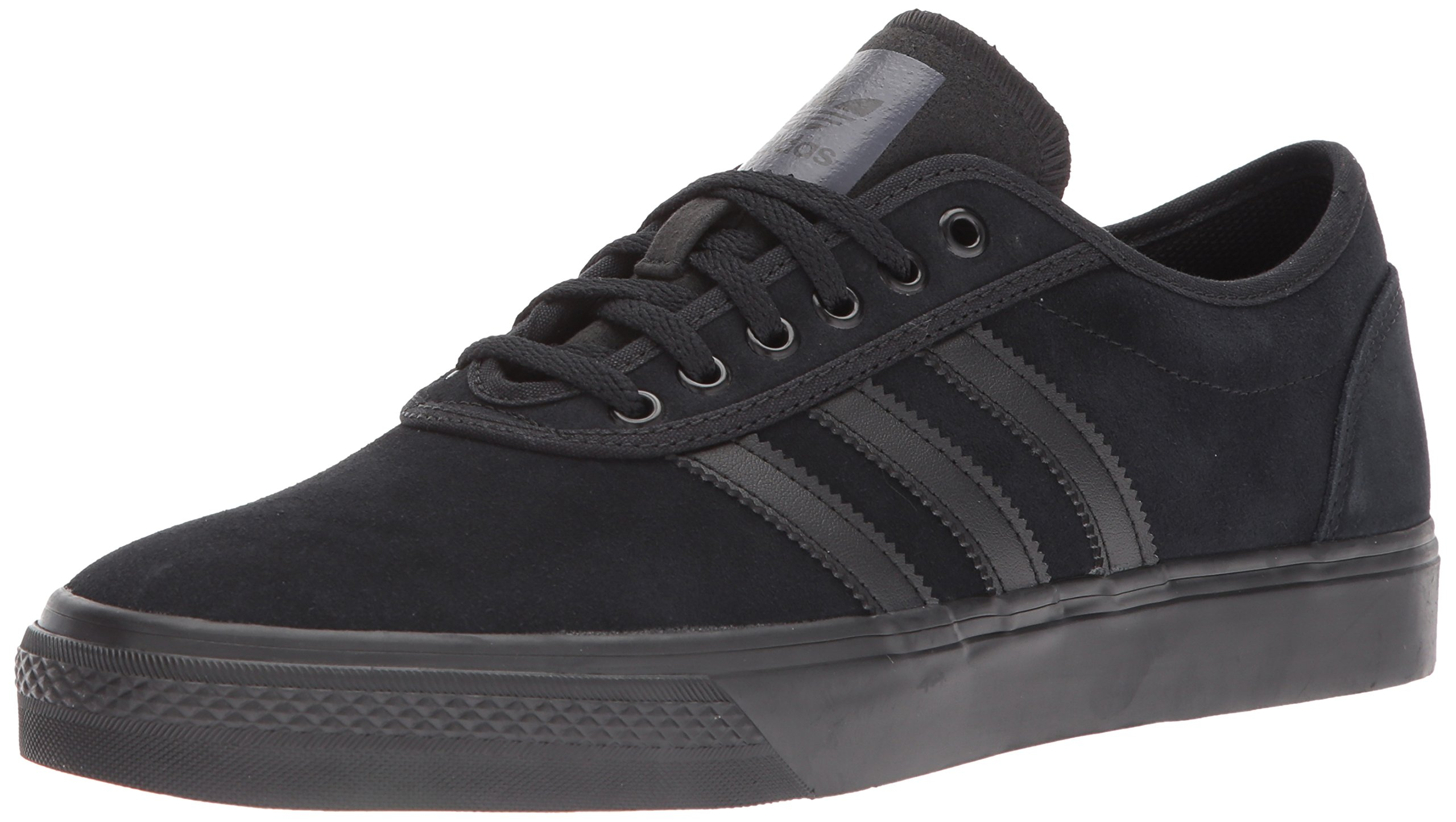 adidas Originals Men's adi-Ease Skate Shoe Black, 4 M US by adidas Originals (Image #1)