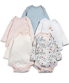 erPack 5 Mamas /& Papas Baby-Jungen Formender Body