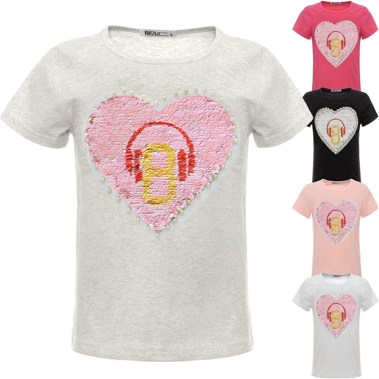 BEZLIT M/ädchen T-Shirt Tolle Motive 22541