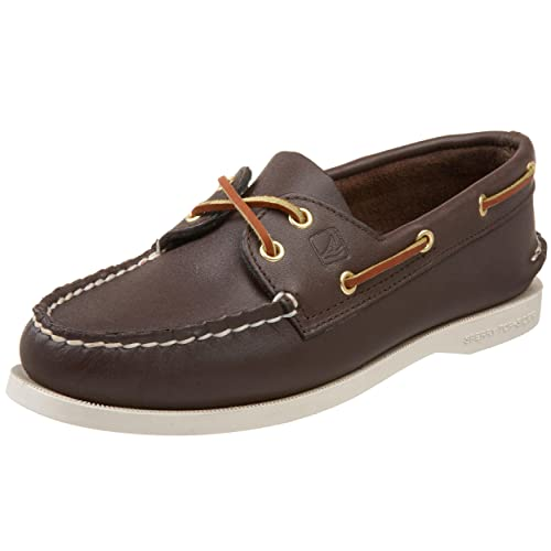 2368359fa9 Sperry Women s A O 2-Eye Boat Shoes Brown  Amazon.ca  Shoes   Handbags
