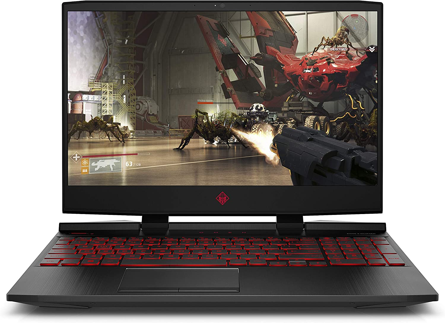 OMEN by HP 2018 15-inch Gaming Laptop, Intel i7-8750H Processor, NVIDIA GeForce GTX 1070, 32 GB RAM, 512 GB SSD, VR Ready, Windows 10 (15-dc0045nr, Black) (Renewed)