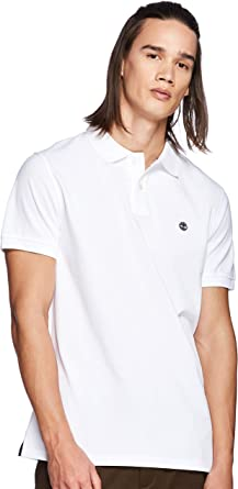 Timberland SS Millers River Pique Reg Polo Hombre: Amazon.es ...