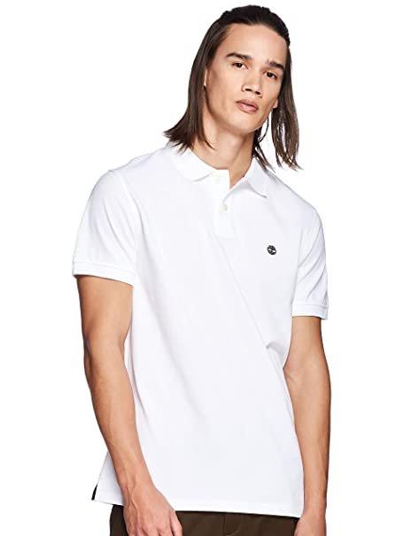 Timberland SS Millers River Pique Reg Polo Hombre: Amazon.es: Ropa ...