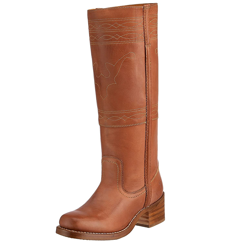 FRYE Women's Campus Stitching Horse Boot B001BU9PYU 8 B(M) US|Saddle Montana Leather