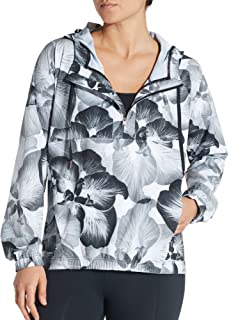 24be43b5a40 CALIA by Carrie Underwood Women s Anywhere Perforated Printed Half Zip  Jacket