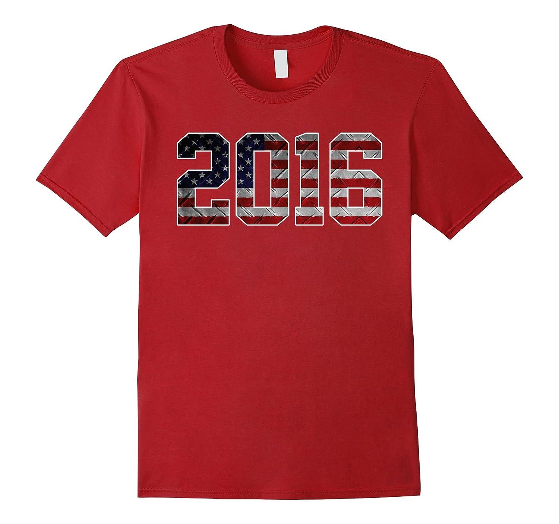 2016 American Flag T-shirt Kid's 1st Birthday Gifts