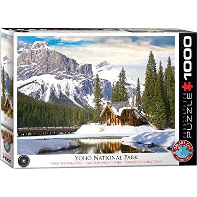 Yoho National Park British Columbia 1000-Piece Puzzle: Toys & Games