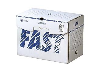 Fast treillet paquete retractilado de 10 cajas de archivo definitivo.lomo de 20 cm.