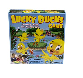 amazon lucky ducks the memory and matching game that moves by