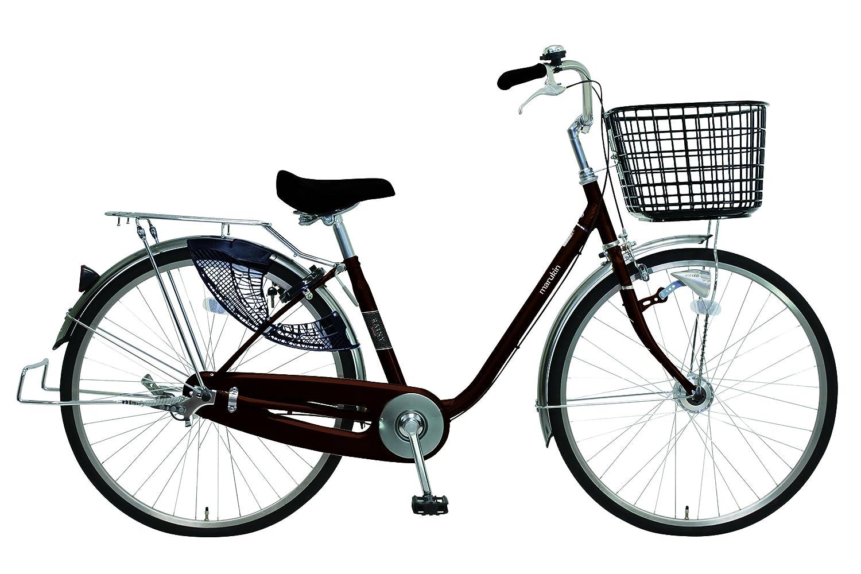 marukin(マルキン) 完全組立 26インチ自転車 LEDオートライト シマノ製内装3段ギア B077ZK5TR5ダークブラウン