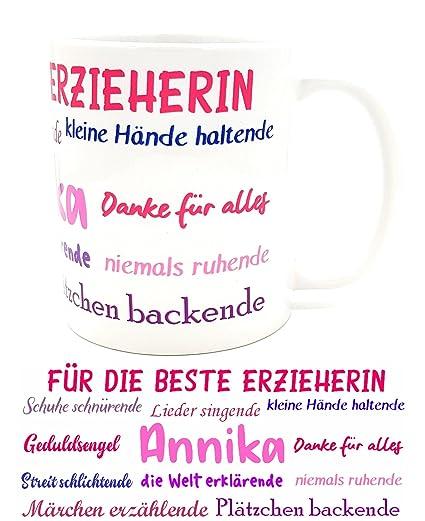 Kilala Danke Tasse Für Erzieherin Oder Kindergärtnerin Inkl  Geschenkverpackung Abschiedsgeschenk (rosa Kindergärtnerin): Amazon.de:  Küche U0026 Haushalt