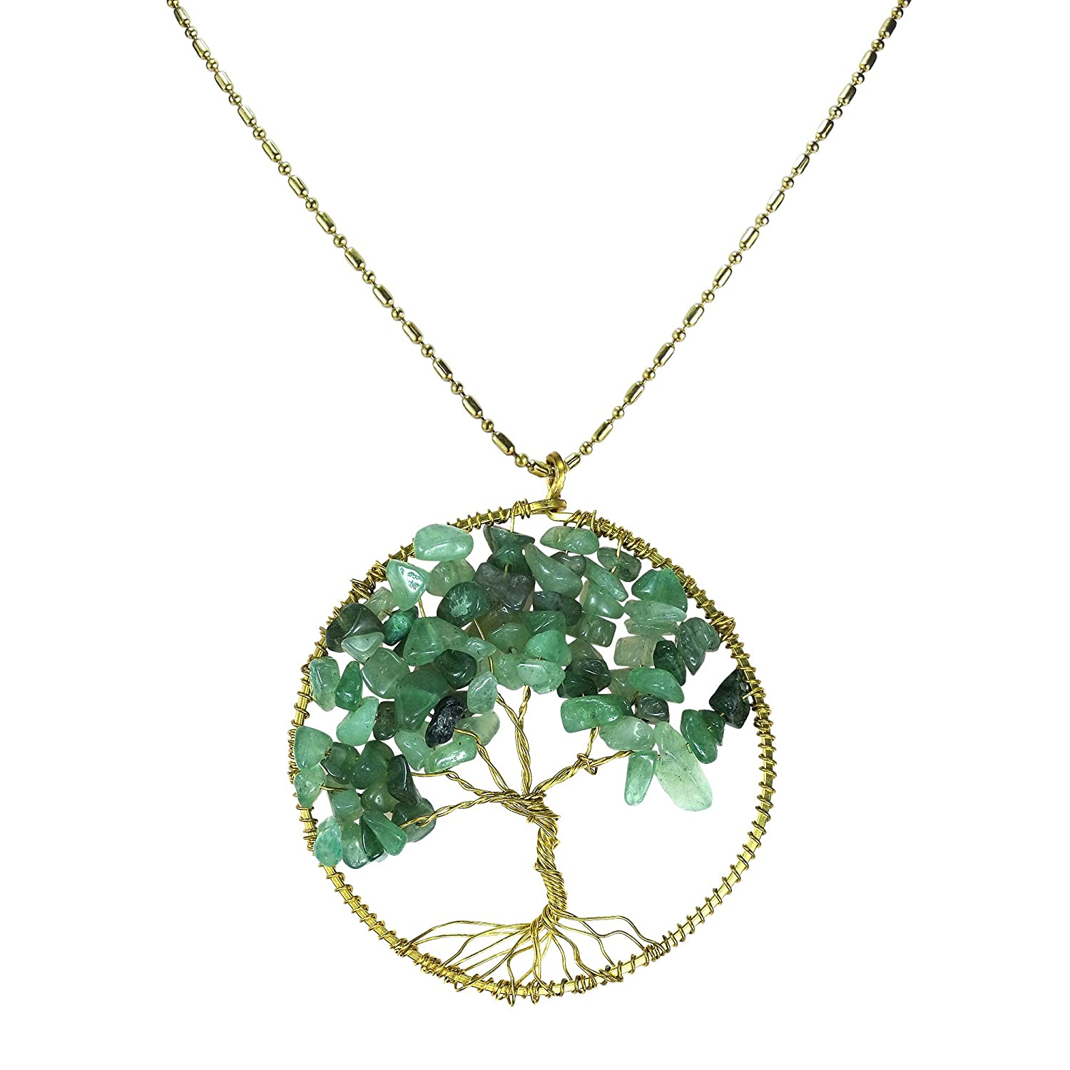 chic life of tree necklace seek products for handmade