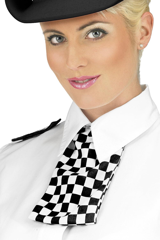 chic Smiffys Déguisement Femme, Panoplie de la policière, avec col,  écharppe et épaulettes ce7a61bd118