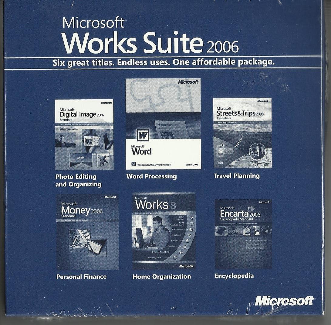 Microsoft Works Suite 2006