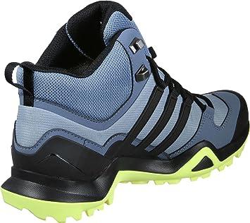 Adidas Terrex Swift R2 Mid GTX W botas de senderismo, chica, gris (Grinat