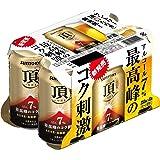 サントリー 頂 <いただき> アルコール7% 350ml×6本 【高麦芽量×高醗酵×高炭酸】