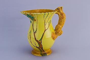 Whimsical Vintage Agua Ardilla Flores De Burgess Cartucho De